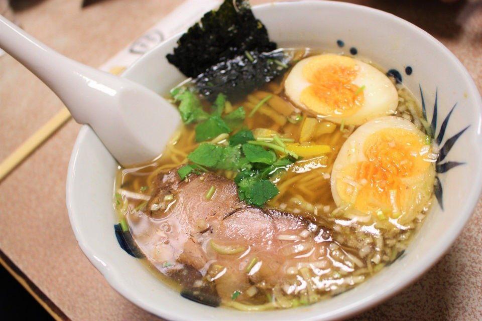 Bowl of Ramen you can expect to find at Ramen-ya